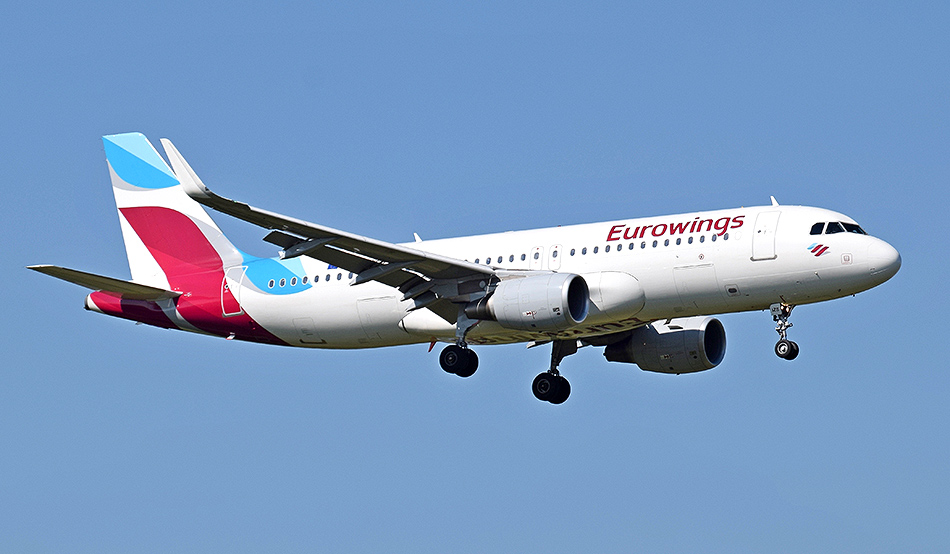 Eurowings flies to Windhoek three times a week as from the end of October